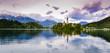Lake Bled in dawn