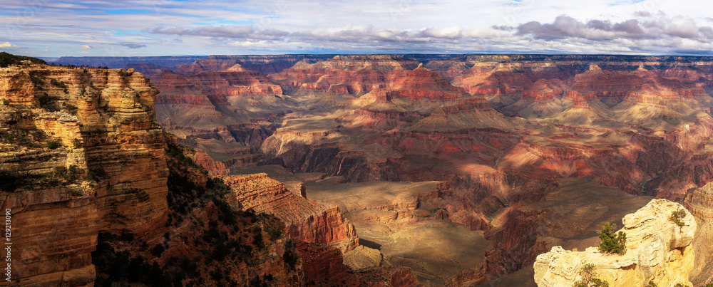 Incredible Landscape from South Rim of Grand Canyon, Arizona, Un