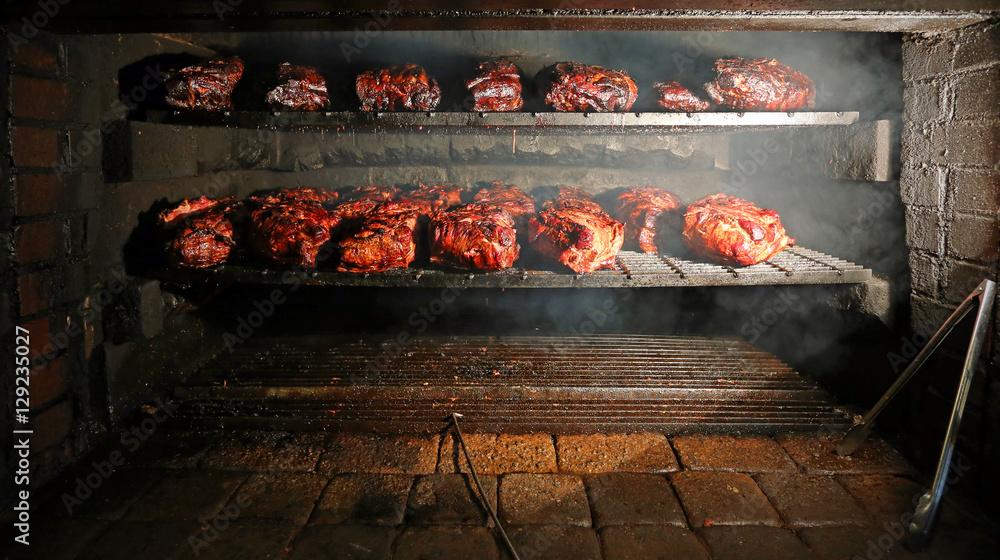 Fototapety, obrazy: BBQ Pork