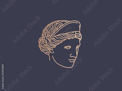 Fotografie, Obraz  Aphrodite logo