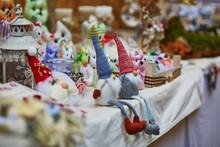 Funny Handmade Little Gnomes On Market