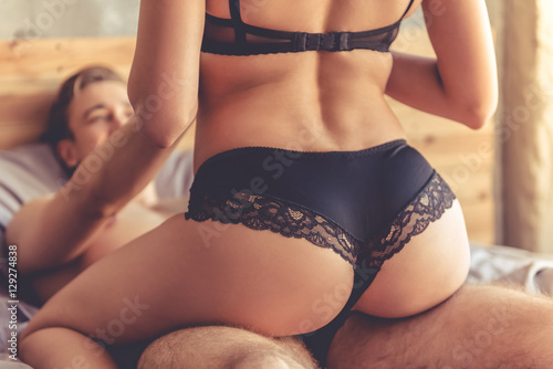 Obraz Couple having sex - fototapety do salonu