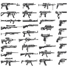 Weapon Collection, Gun, Machin...