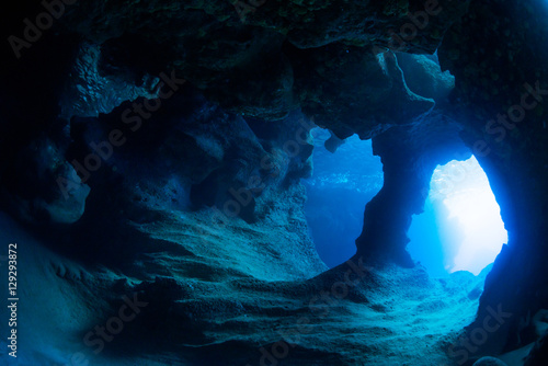 Photographie Underwater cave