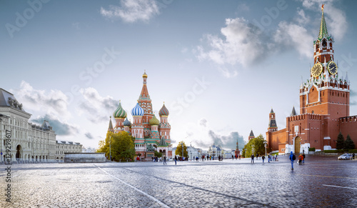 Photo  Panorama of Red Square in Moscow, Russia