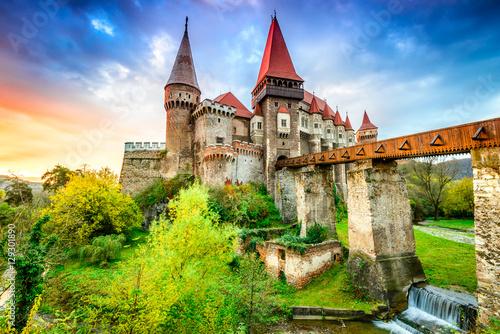 Corvin Castle - Hunedoara, Transylvania, Romania Poster