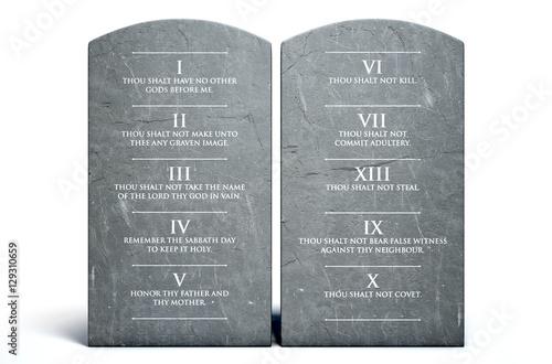 Ten Commandments Wallpaper Mural