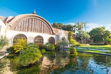 Pond In Balboa Park In San Diego