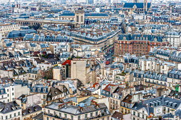 Fototapeta View of Paris, France.