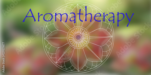 Aromatherapy natural background Wallpaper Mural