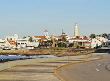 Uruguay, Maldonado Department, Shoreline Of  Punta Del Este.