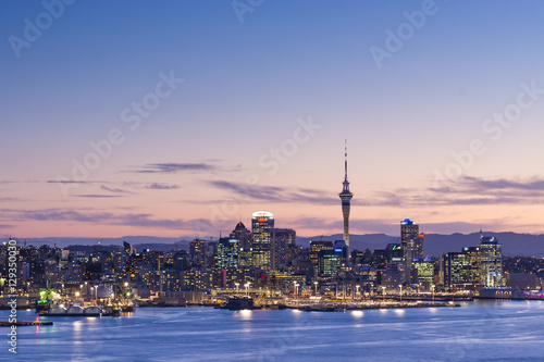 Photo Blue Hour from Mount Victoria