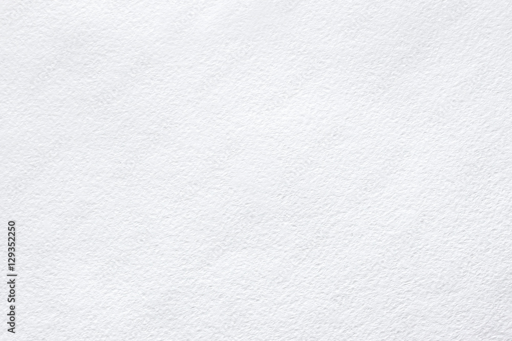 Fototapety, obrazy: White background of watercolor paper