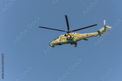 Türaufkleber Hubschrauber mi-24