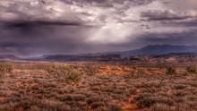 Storm Over A Mesa