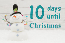 Christmas Countdown Message