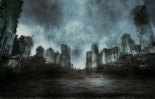 Rain In The Destroyed City