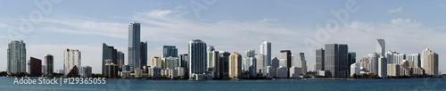 Obraz na płótnie Panoramiczna linia horyzontu Miami Floryda