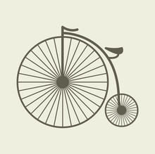 Penny Farthing Bicycle Vintage...
