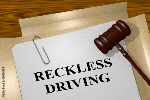 Obraz na plátně Reckless Driving - legal concept