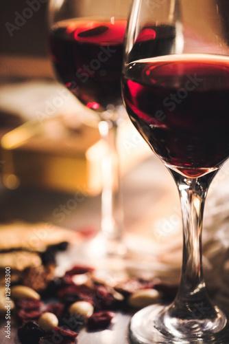 Plakat w ramie Wino