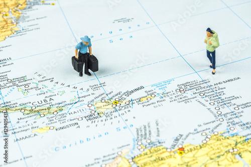 Foto op Plexiglas Caraïben traveling to the Caribbean