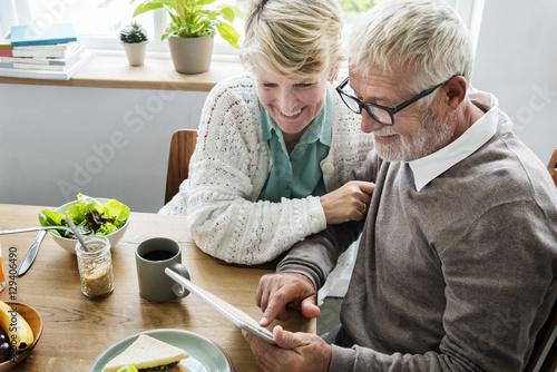 Fotografía Retirement Senior Couple Lifestyle Living Concept
