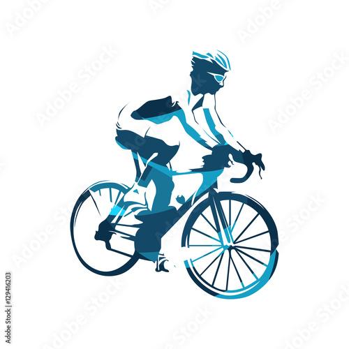 niebieski-kolaz-na-rowerze-na