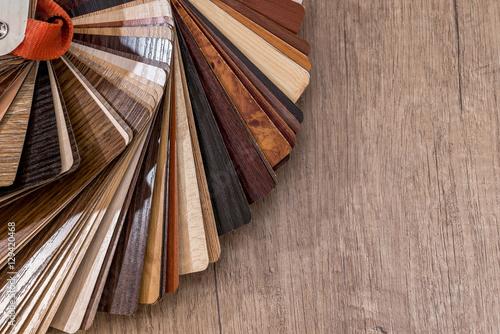 Fotografie, Obraz  wood texture floor  on wooden Background