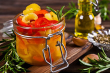 Homemade Canned Peppers