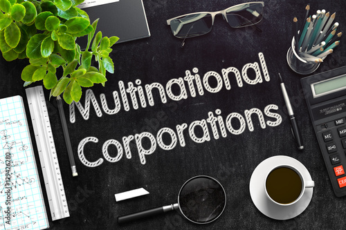 Fotografija Multinational Corporations Concept. 3D render.