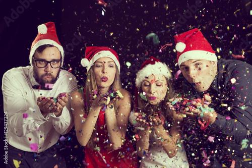 Spoed Fotobehang Carnaval Happy New Year