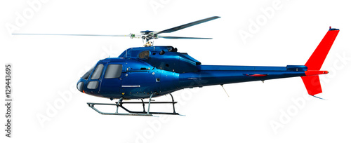 Poster Helicopter helicopter isolated