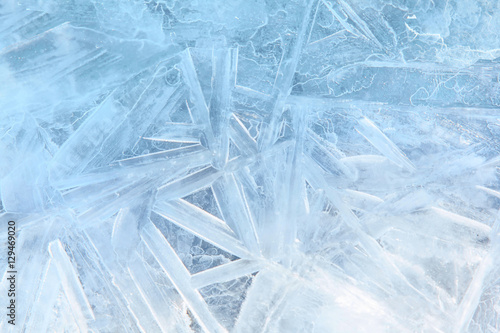Ice blue background Wallpaper Mural