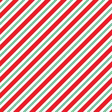 Seamless Christmas Stripe Wrap...