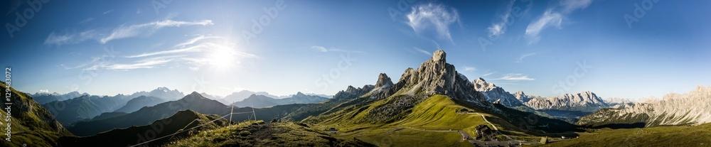 Fototapeta Dolomites panorama