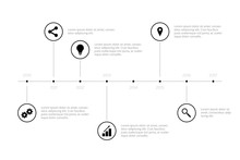 Simple Infographic Timeline - ...