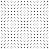 Bezszwowy czarny i biały polki kropki tło - 129505627
