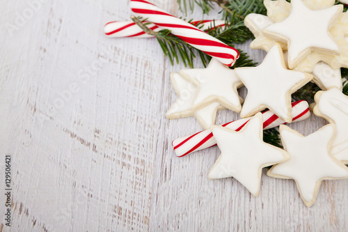 Christmas Cookies Background Buy This Stock Photo And Explore