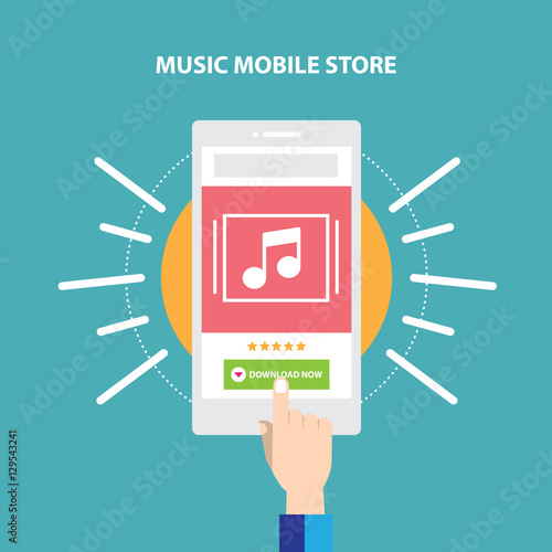 Audio Music Website Store  Responsive mobile ecommerce