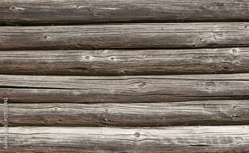 Recess Fitting Wood Wooden wall of old house