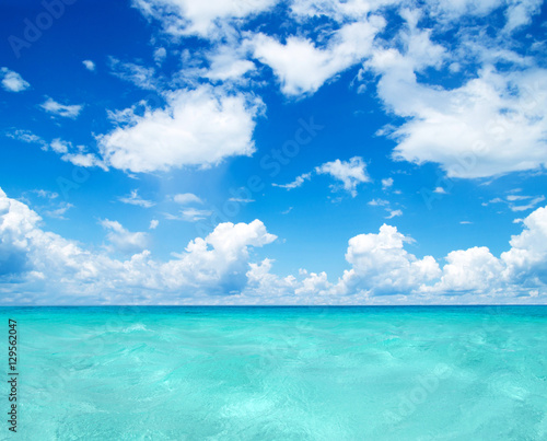 Photo Stands Turquoise sea