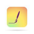brush line icon
