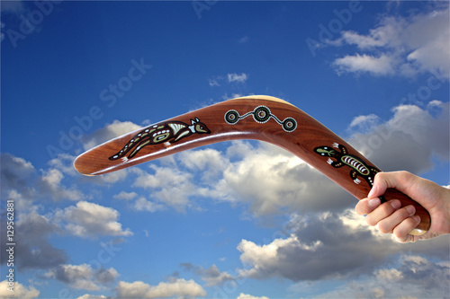 Photo Australian Boomerang