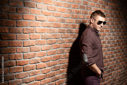 Fotografie, Obraz  forceful man