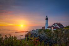 Portland Head Lighthouse Sunri...