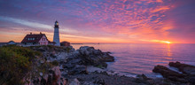 Portland Head Light Panorama S...