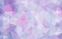 Lavender Lilac Abstract Polygonal Geometric Background