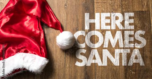 Photo Here Comes Santa
