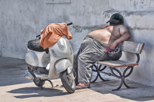 Siesta In The Shadow In Apulia...